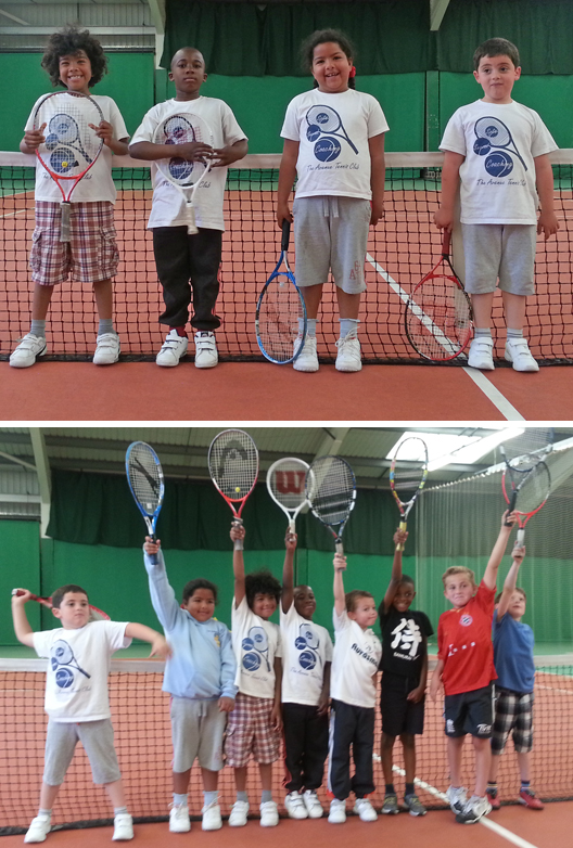 Avenue Tennis Under 8s at Enfield