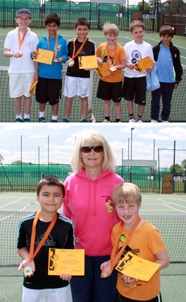Avenue Tennis Under 9s Boys Competition
